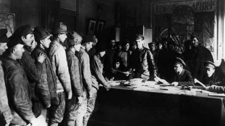 Die Rote Armee bei Arte (Foto)
