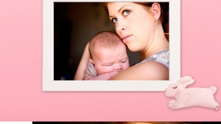 Die Hormonumstellung bei Müttern nach der Schwangerschaft ist zwar lästig, aber notwendig. (Foto)