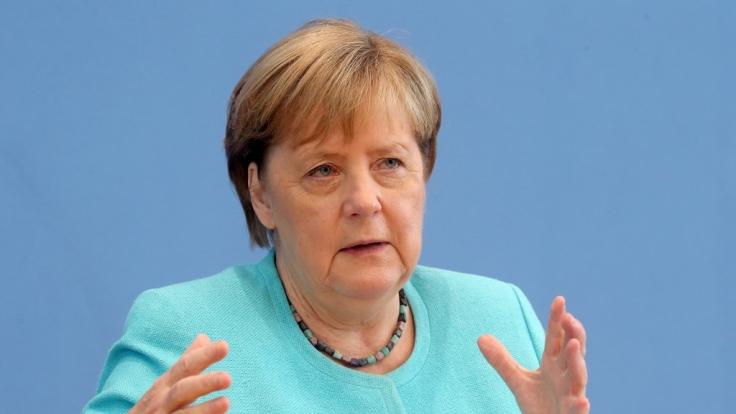 Angela Merkel berät am 10. August mit den Ministerpräsidenten über weitere Schritte in der Corona-Pandemie. (Foto)