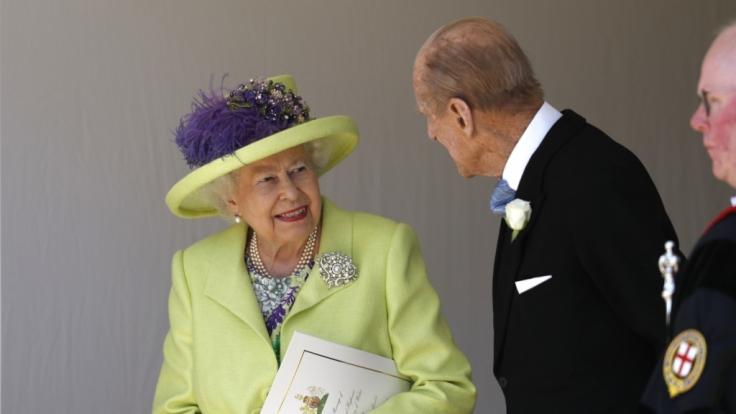 Ein Bild aus glücklichen Tagen: Queen Elizabeth II. und ihr Ehemann Prinz Philip. (Foto)
