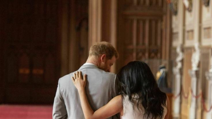 Meghan Markle gibt dem britischen Königshaus angeblich die Schuld am Megxit. (Foto)