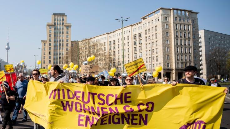 Ein Volksbegehren hat sich in Berlin die Enteignung von Wohnungskonzernen auf die Fahnen geschrieben.