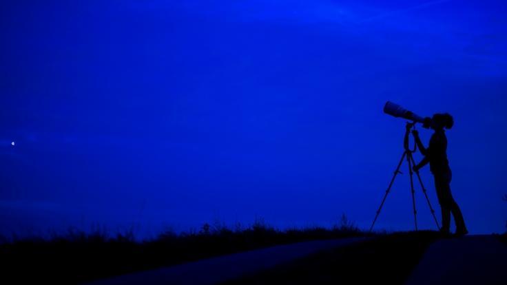 Im Mai sind erneut Sternschnuppen am Himmel zu sehen. (Foto)
