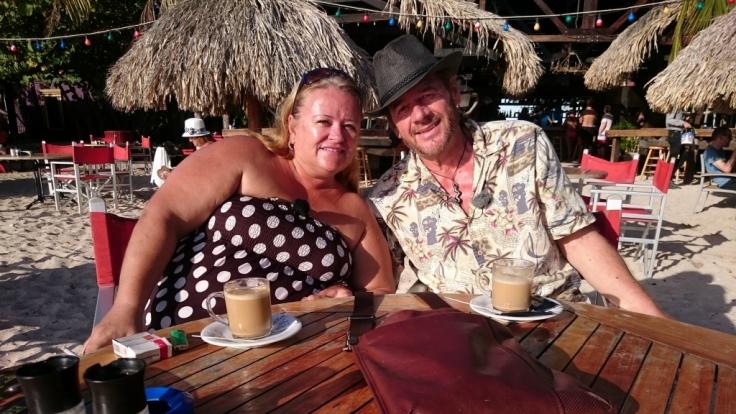 Peter und Susann Kleuters leben seit sieben Jahren auf der Karibikinsel Curacao. (Foto)