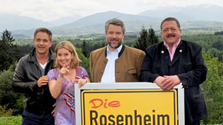 Rosenheim-Cops unter sich. (Foto)