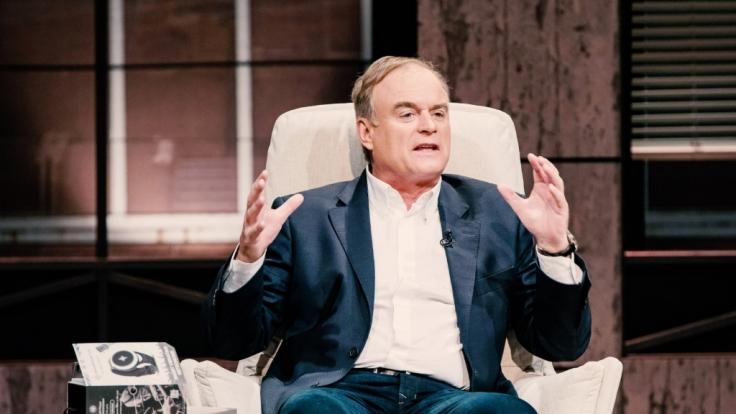 Investor Dr. Georg Kofler als Gast-Löwe.