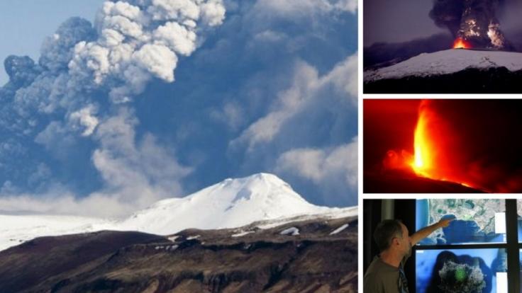 Immer wieder halten uns Vulkanausbrüche in Atem. (Foto)