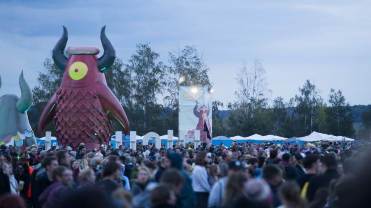 Jedes Jahr strömen 30.000 Besucher zum Highfield-Festival bei Leipzig. (Foto)