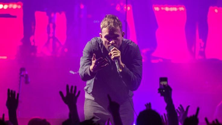Der britische Musiker Damon Albarn von der Band Gorillaz (Foto)