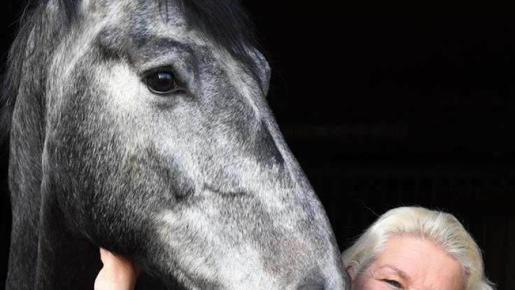Die Leidenschaft für Pferde teilte Carmen Hanken mit ihrem verstorbenen Mann Tamme Hanken. (Foto)