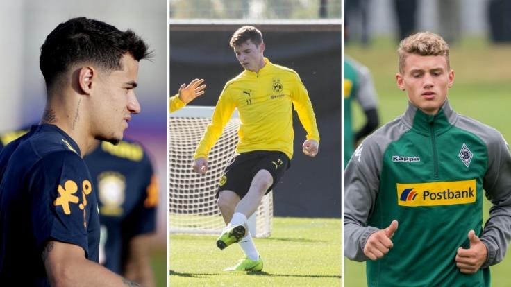 FC Bayern will Coutinho und Cuisance - BVB leiht Sergio Gómez aus (Foto)