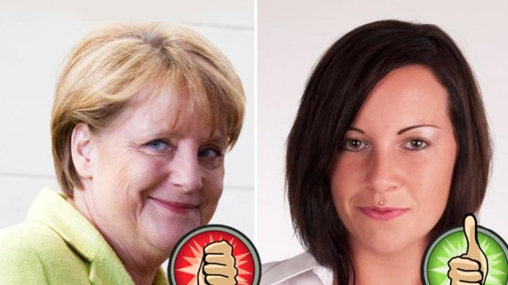 Wer hat mehr Sex Appeal - Angela Merkel oder Yvonne Ploetz? (Foto)