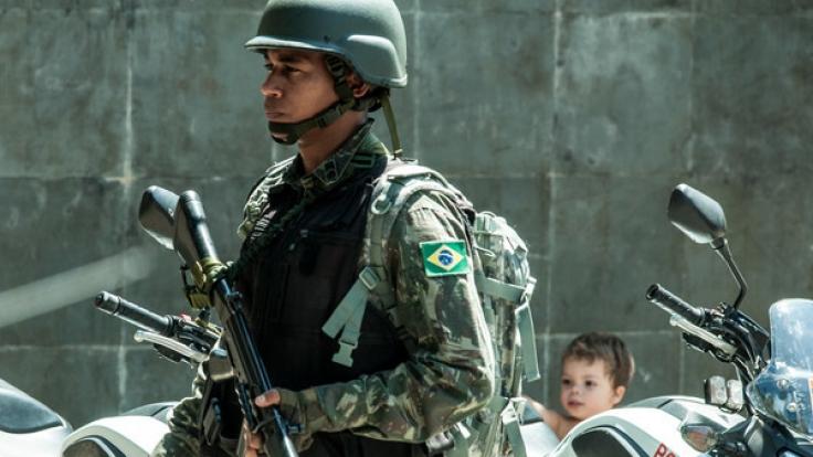 In Brasilien sind drei Jugendliche versehentlich Opfer der Polizei geworden. (Foto)
