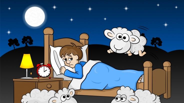 Zu wenig Schlaf ist schädlich.