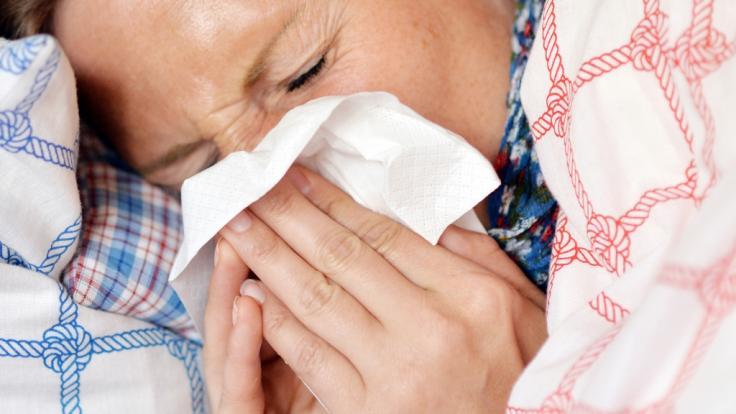Ein handfeste Erkältung droht nicht nur im Winter. (Foto)