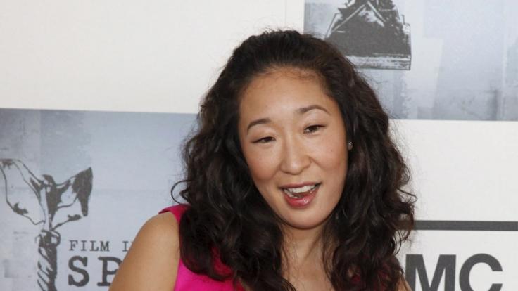 """Für ihre Rolle in """"Grey's Anatomy"""" wurde die Schauspielerin Sandrah Oh mit dem Golden Globe ausgezeichnet. (Foto)"""