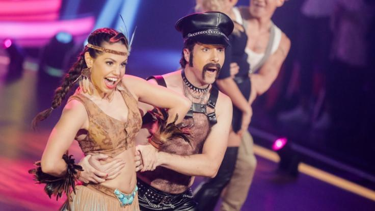"""Christina Luft hatte in der """"Let's Dance""""-Staffel von 2019 mit ihrem Promipartner Oliver Pocher sichtlich Spaß auf der Tanzfläche. (Foto)"""