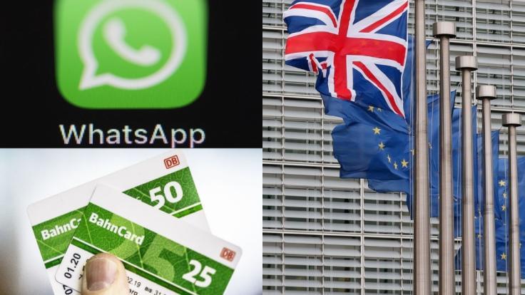 Im Februar 2020 erwarten Verbraucher einige neue Gesetze zu WhatsApp, Bahncard und Co. (Foto)