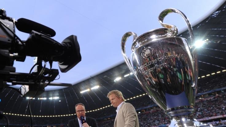 Schauen Fußball-Fans künftig in die Röhre? Die Übertragungsrechte für die Champions League sind noch nicht geklärt. (Foto)