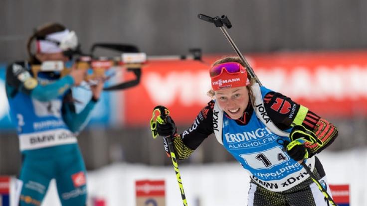 Laura Dahlmeier gilt als Top-WM-Favoritin.