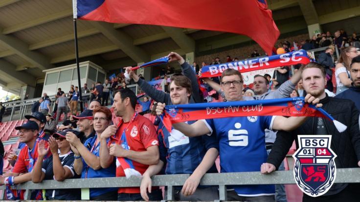 Alles zum aktuellen Spiel des Bonner SC lesen Sie hier auf news.de. (Foto)