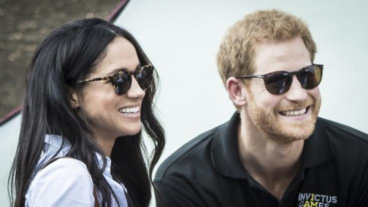 Meghan Markle und ihr künftiger Verlobter Prinz Harry sind schwer verliebt. (Foto)