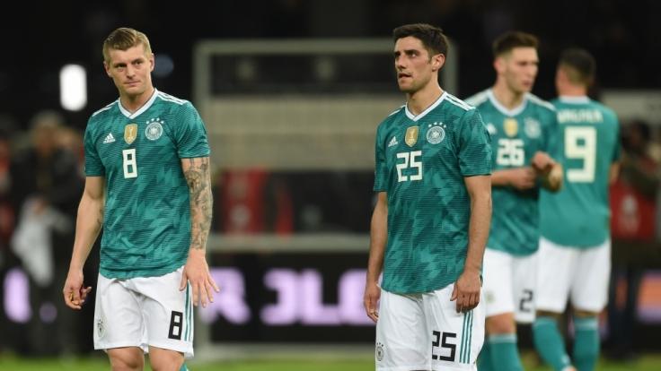 Toni Kroos musste mit der Nationalmannschaft eine Niederlage einstecken.