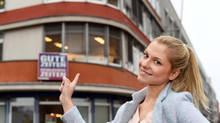 """Valentina Pahde mimt Sunny Richter bei """"Gute Zeiten, schlechte Zeiten"""". (Foto)"""
