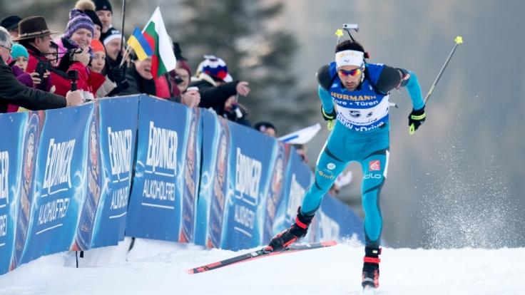 Der Biathlon Weltcup 2018 gastiert vom 9. bis 14. Januar in der Chiemgau Arena in Ruhpolding. (Foto)