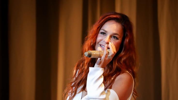 Am Wochenende findet das Heimspiel von Andrea Berg in Aspach statt. (Foto)