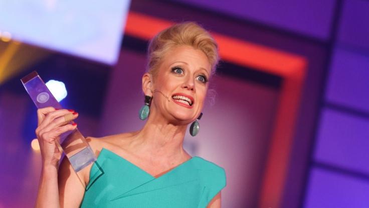 Barbara Schöneberger durfte den Deutschen Fernsehpreis bereits 2016 moderieren. (Foto)