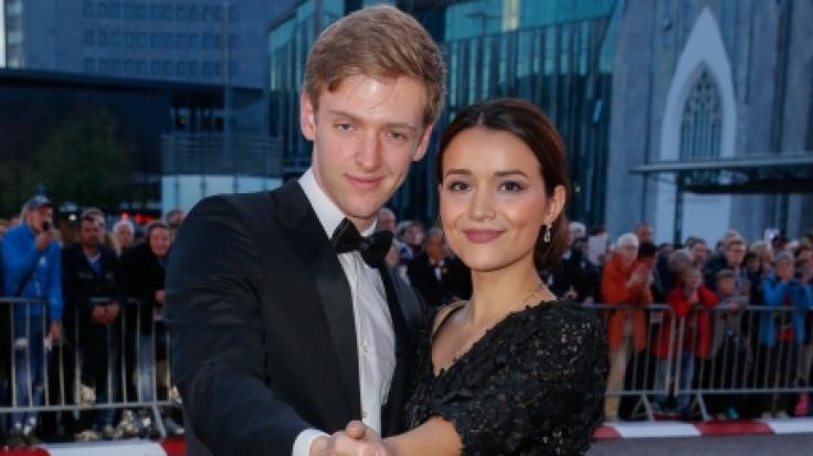 Timur Bartels und seine Ex-Freundin Michelle Math.