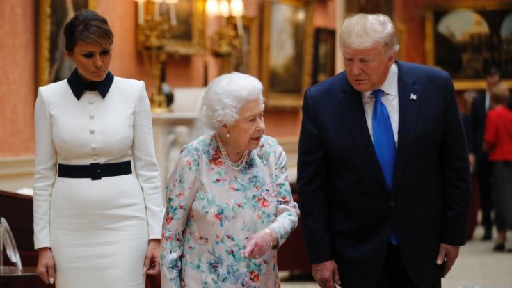 Ist Melania Trump etwa schwanger? (Foto)