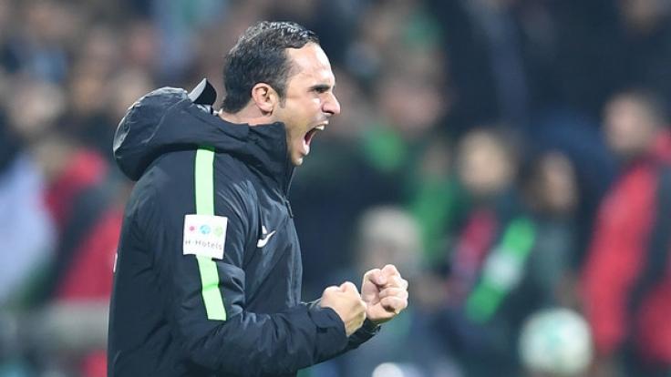 Der SV Werder Bremen trifft am Sonntag auf den FC Augsburg.