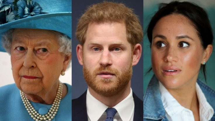 Queen Elizabeth II., Prinz Harry und Meghan Markle waren diese Woche Dauergäste in den Royals-News. (Foto)