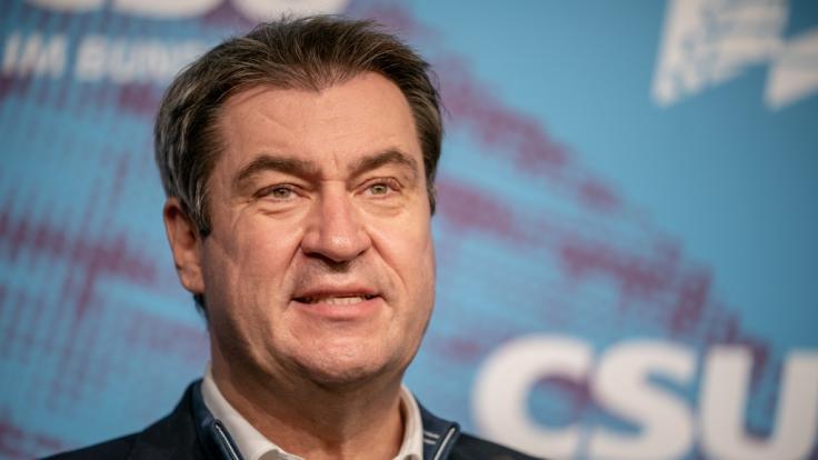 Markus Söder hat EU-Chefin Ursula von der Leyen im TV massiv kritisiert. (Foto)