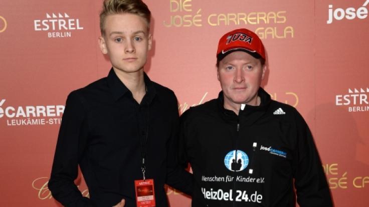 Joey Kelly und seinem 19-jährigen Sohn Luke liegt die Abenteuerlust im Blut.