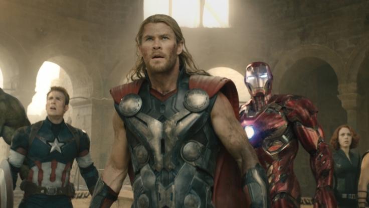 Die Avengers sind zurück: The Hulk, Captain America, Thor, Ironman, Black Widow und Hawkeye. (Foto)