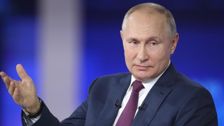 Will Wladimir Putin britisches Gebiet in der Antarktis besetzen? (Foto)