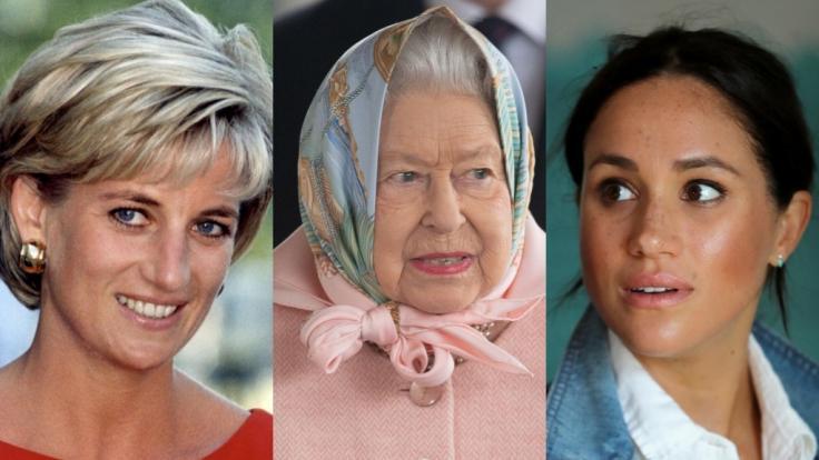 Die Royals-News drehten sich diese Woche um Prinzessin Diana, Queen Elizabeth II. und Meghan Markle.