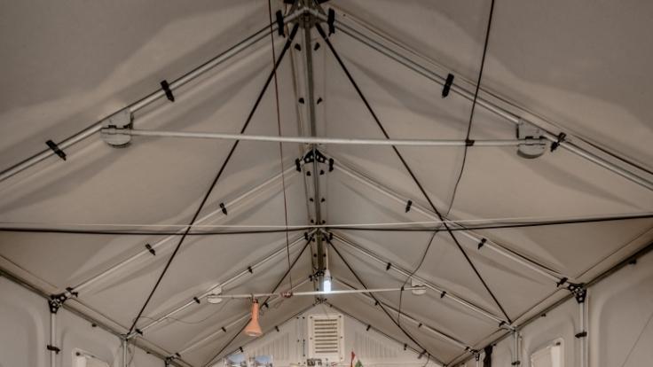 Die Better Shelter-Hütten sollen bald Flüchtlingen auf der ganzen Welt Schutz bieten. (Foto)