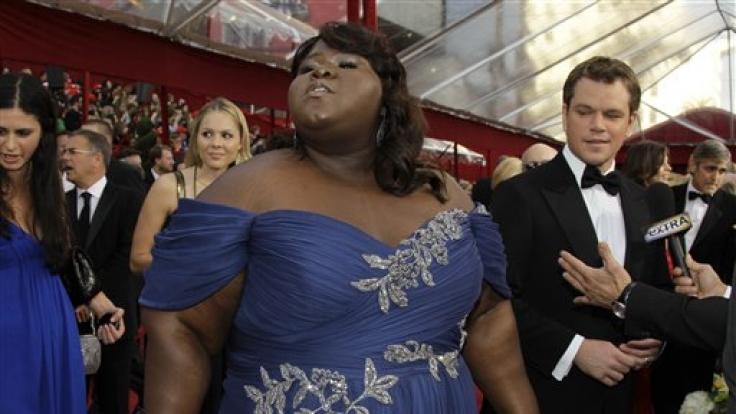 Gabourey Sidibe steht zur ihren Pfunden. Ob sie in Hollywood bestehen wird? (Foto)