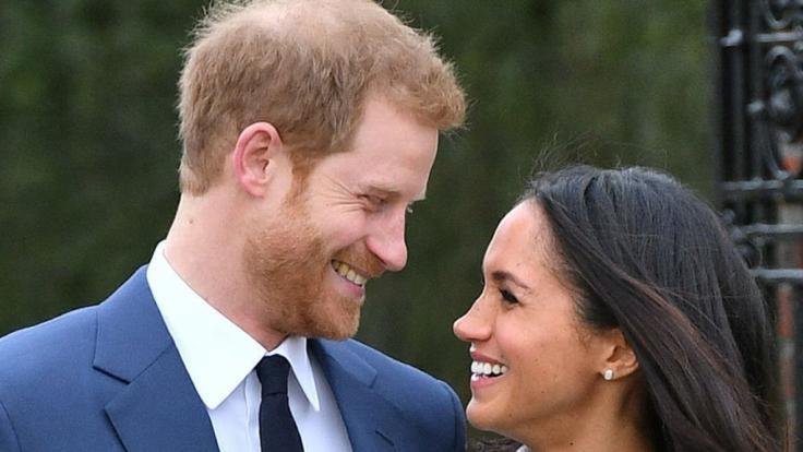 Glücklich verliebt: Prinz Harry und die ehemalige Schauspielerin Meghan Markle.