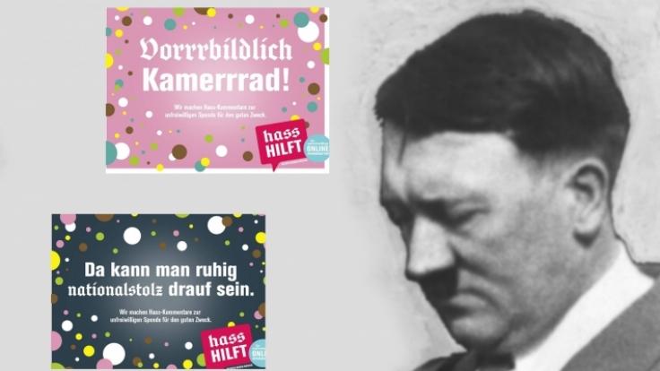 hasshilft.de ist eine Initiative vom Zentrum Demokratische Kultur in Berlin. (Foto)