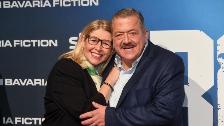 Joseph Hannesschläger, Schauspieler, und seine Frau Bettina. (Foto)