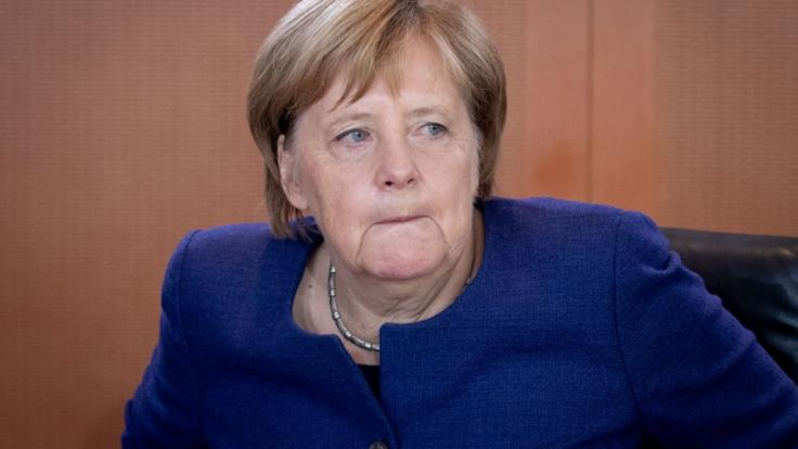 Bundeskanzlerin Angela Merkel verliert immer mehr Wählerstimmen. (Foto)