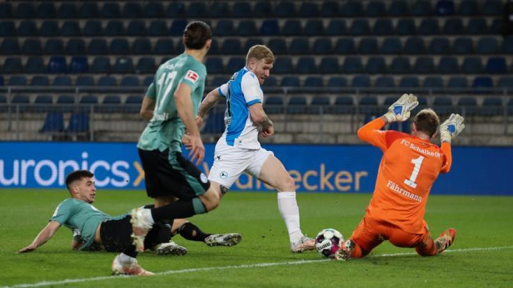 Schalke 04 hatte in der 2. Halbzeit mal wieder das Nachsehen und steht als Absteiger fest (Foto)
