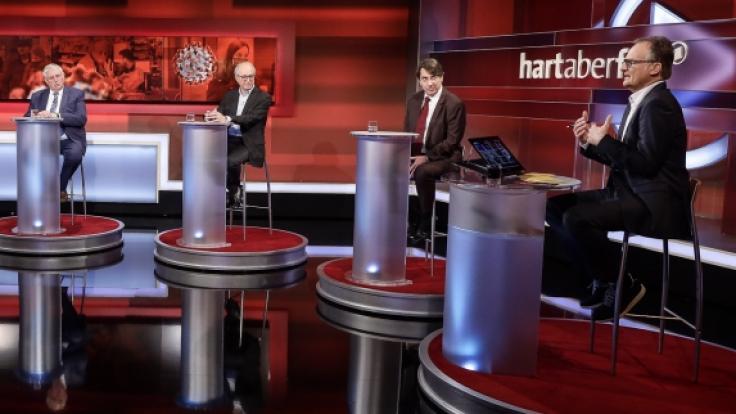 Frank Plasberg diskutiert am Montag, 12. April 2021, über den Union-Kanzlerkandidaten. (Foto)