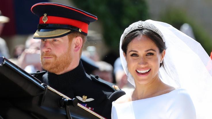 Heute hat Harry seine große Liebe in Meghan Markle gefunden. Das Paar ist seit Mai 2018 verheiratet. (Foto)