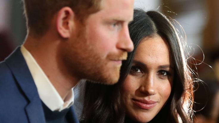 Meghan Markle und Prinz Harry sitzen in Kanada fest. (Foto)